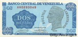 2 Bolivares VENEZUELA  1989 P.069 pr.NEUF