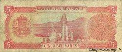 5 Bolivares VENEZUELA  1989 P.070 TB