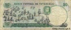 20 Bolivares VENEZUELA  1987 P.071 TB