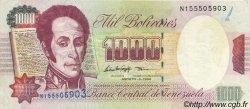 1000 Bolivares VENEZUELA  1998 P.076d TTB+