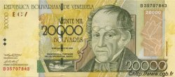 20000 Bolivares VENEZUELA  2002 P.086b NEUF