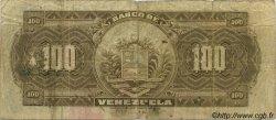 100 Bolivares VENEZUELA  1936 PS.313 B+