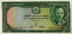 5 Afghanis AFGHANISTAN  1939 P.022 NEUF