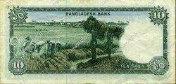 10 Taka BANGLADESH  1973 P.14a TTB+