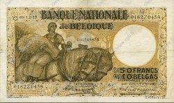 50 Francs - 10 Belgas BELGIQUE  1927 P.100 TTB