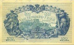 500 Francs - 100 Belgas BELGIQUE  1934 P.103 SPL