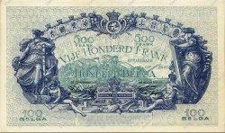 500 Francs - 100 Belgas BELGIQUE  1943 P.109 SPL