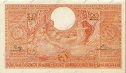100 Francs - 20 Belgas BELGIQUE  1944 P.113 SUP+