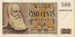 500 Francs BELGIQUE  1954 P.130a pr.NEUF