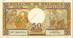 50 Francs BELGIQUE  1956 P.133b SPL
