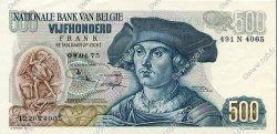 500 Francs BELGIQUE  1975 P.135b SPL