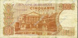 50 Francs BELGIQUE  1966 P.139 TTB