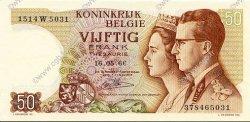 50 Francs BELGIQUE  1966 P.139 pr.NEUF