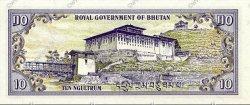 10 Ngultrum BHOUTAN  1981 P.08 NEUF
