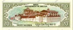 20 Ngultrum BHOUTAN  1981 P.09 NEUF