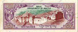 50 Ngultrum BHOUTAN  1981 P.10 SPL