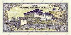 10 Ngultrum BHOUTAN  1992 P.15b pr.NEUF