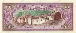 50 Ngultrum BHOUTAN  1986 P.17a NEUF