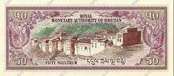 50 Ngultrum BHOUTAN  1992 P.17b NEUF