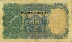 10 Rupees BIRMANIE  1937 P.02b TTB