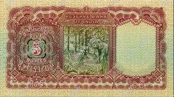5 Rupees BIRMANIE  1938 P.04 SUP à SPL