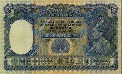 100 Rupees BIRMANIE  1939 P.06 TTB+