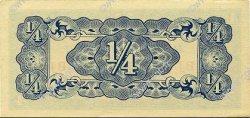 1/4 Rupee BIRMANIE  1942 P.12a pr.NEUF