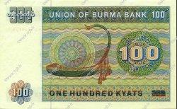 100 Kyats BIRMANIE  1976 P.61a SPL