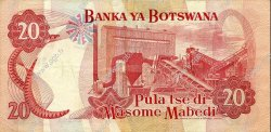 20 Pula BOTSWANA  1979 P.05b TTB+