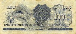 100 Francs BURUNDI  1962 P.05 TTB