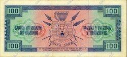 100 Francs BURUNDI  1964 P.12a SUP+