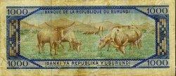 1000 Francs BURUNDI  1976 P.25b TB
