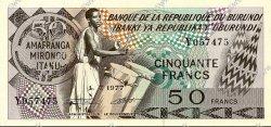 50 Francs BURUNDI  1977 P.28a NEUF