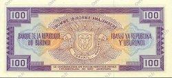 100 Francs BURUNDI  1986 P.29b NEUF