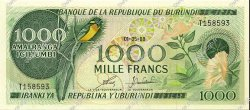 1000 Francs BURUNDI  1988 P.31d pr.NEUF
