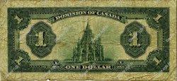 1 Dollar CANADA  1923 P.033d B+