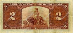 2 Dollars CANADA  1937 P.059c TTB