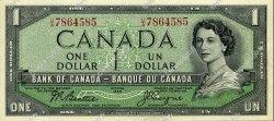 1 Dollar CANADA  1954 P.074a SPL