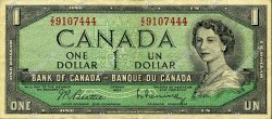1 Dollar CANADA  1954 P.075b TTB