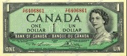 1 Dollar CANADA  1954 P.075d pr.NEUF