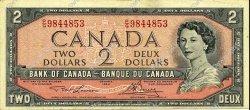 2 Dollars CANADA  1954 P.076d TTB+