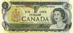 1 Dollar CANADA  1973 P.085c