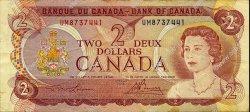 2 Dollars CANADA  1974 P.086a TTB
