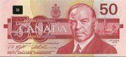 50 Dollars CANADA  1988 P.098c pr.NEUF