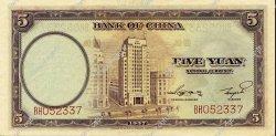 5 Yuan CHINE  1937 P.0080 SPL
