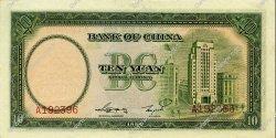 10 Yuan CHINE  1937 P.0081 SPL