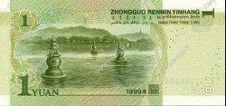 1 Yuan CHINE  1999 P.0895 NEUF