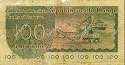 100 Francs CONGO (RÉPUBLIQUE)  1963 P.001a TB
