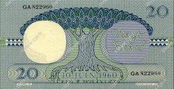20 Francs CONGO (RÉPUBLIQUE)  1962 P.004a pr.NEUF