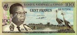 100 Francs CONGO (RÉPUBLIQUE)  1962 P.006a SUP à SPL